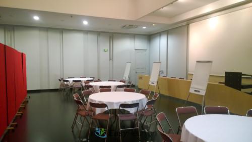 Salle de séminaire espace à diviser selon événements